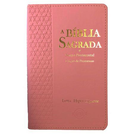 Biblia-e-harpa-pentecostal-letra-hiper-gigante-rosa