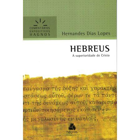 Hebreus---Serie-Comentarios-Expositivos
