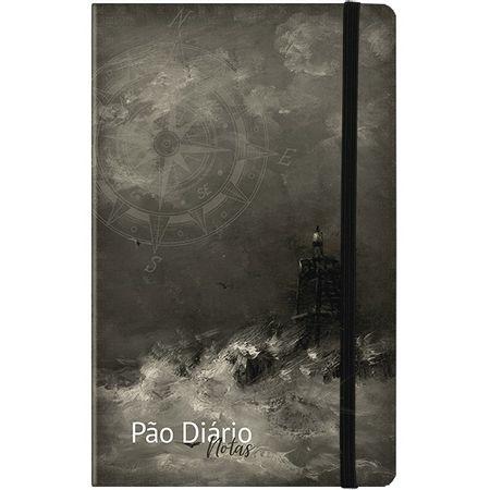 Caderno-de-Notas-Pao-Diario-Cinza-Farol