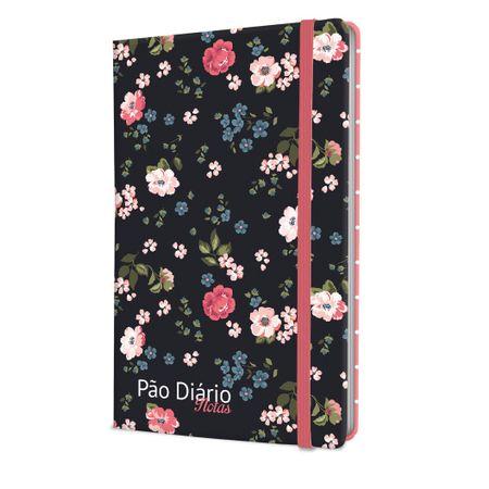 Caderno-de-Notas-Pao-Diario-Floral-Preto