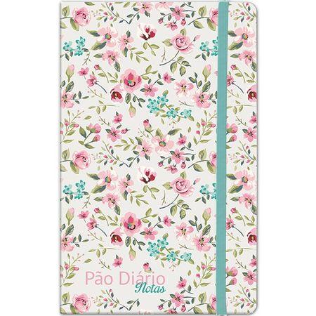 Caderno-de-Notas-Pao-Diario-Floral-Verde