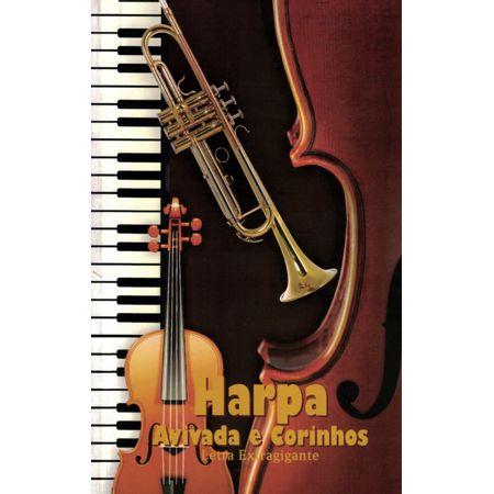 Harpa-Avivada-e-Corinhos-Extragigante-Marrom