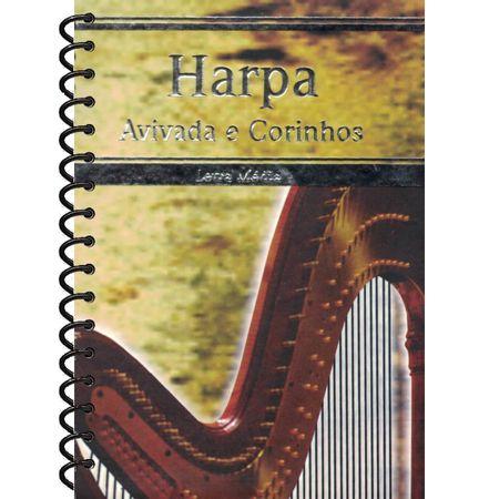 Harpa-Avivada-e-Corinhos-Letra-Media-Espiral-Amarela