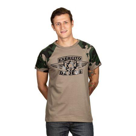 Camiseta-Masculina-Exercito