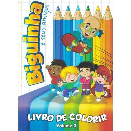Livro-de-Colorir-Biguinha-e-Seus-Amigos-Vol-2