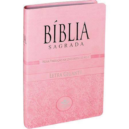 Biblia-NTLH-Letra-Gigante-Luxo-Com-Indice-Rosa