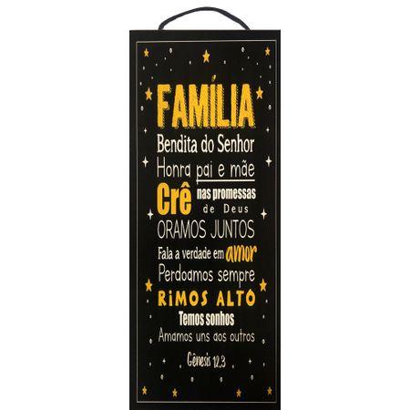 Quadro-MDF-Pequeno---Familia-Bendita-do-Senhor