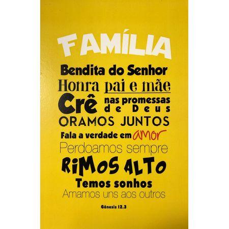 Quadro-MDF-Grande-Familia-Bendita