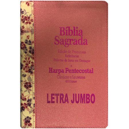 Biblia-Edicao-de-Promessas-Letra-Jumbo-Rosa-Floral