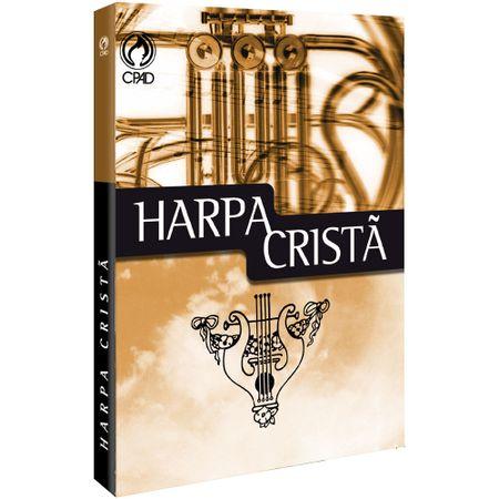 Harpa-Crista-Grande-Brochura-CPAD-Marrom-Trompete