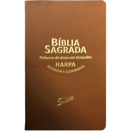 Biblia-Sagrada-Slim-RC-Harpa-Avivada-Marrom