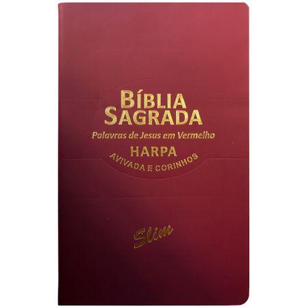 Biblia-Sagrada-Slim-RC-Harpa-Avivada-Vinho