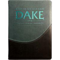 Biblia-de-Estudo-Dake-Verde-e-Preta