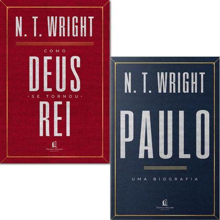 Kit-Livros-N.-T.-Wright--Como-Deus-se-Tornou-Rei---Paulo-Uma-Biografia