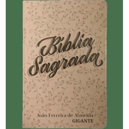 Biblia-Sagrada-Letra-Gigante-RC-Floral-Bege