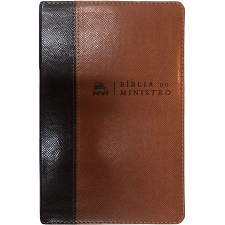 Biblia-do-Ministro-NVI-Marrom-Claro-e-Escuro-Editora-Vida