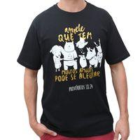 Camiseta-Amigos-Preta