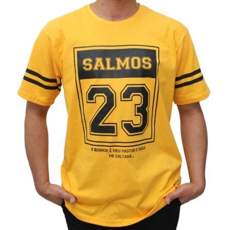 Camiseta-Salmos-23---Amarela