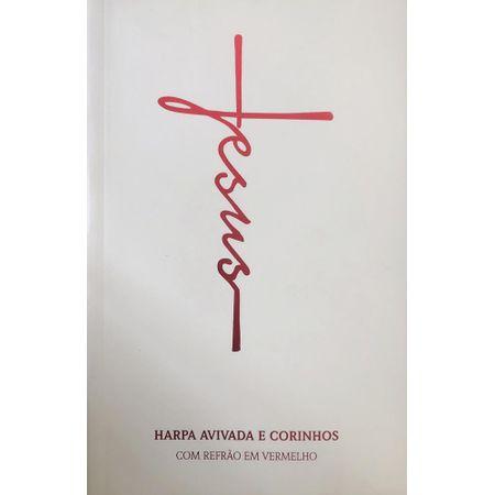 Harpa-Avivada-e-Corinhos---Letra-Hipergigante---Brochura---Jesus