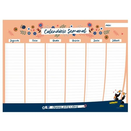 Calendario-Semanal---Laranja-Fani