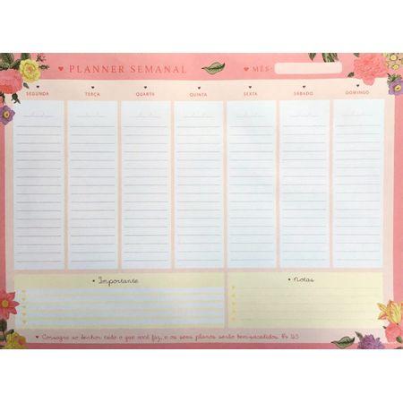 Planner-Semanal---Luz-E-VIda-Rosa