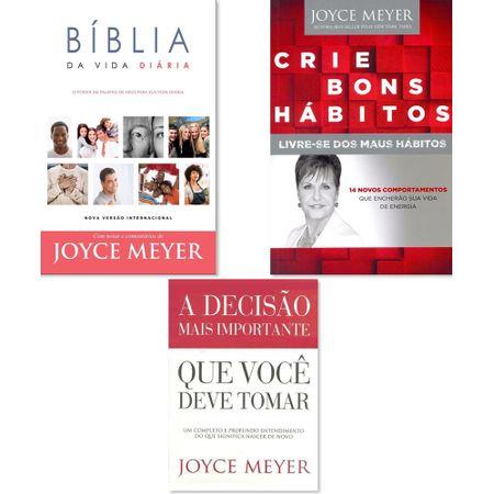 Kit-Joyce-Meyer-Crie-Bons-Habitos-A-Decisao-Mais-Importante-que-voce-Deve-Tomar-Biblia-da-Vida-Diaria-Capa-Dura