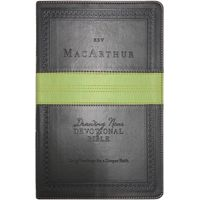 ESV-MacArthur-Drawing-Near-Devotional-Bible