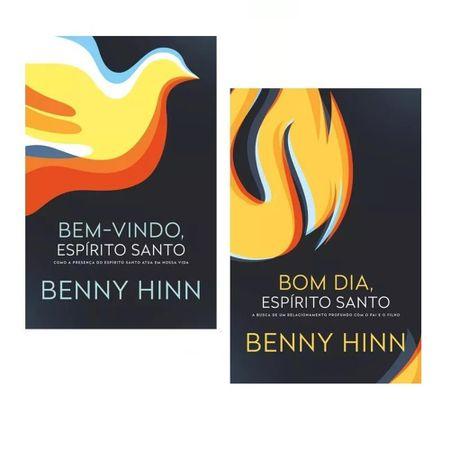 Kit-Benny-Hinn---Bom-dia-Espirito-Santo-e-Bem-Vindo-Espirito-Santo