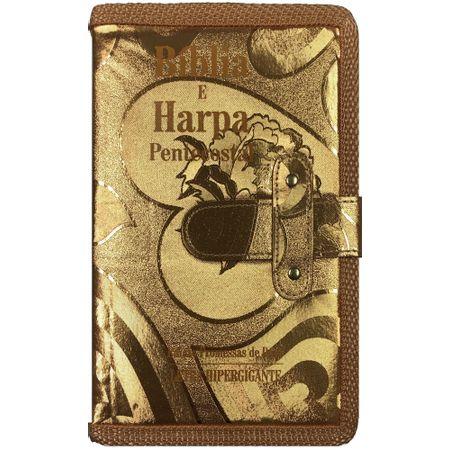 Biblia-e-Harpa-Letra-Hipergigante-Dourada-com-Fecho