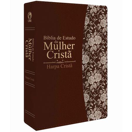 BIBLIA-DE-ESTUDO-DA-MULHER-CRISTA-MEDIA-COM-HARPA-MARROM