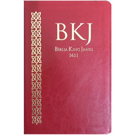 BIBLIA-KING-JAMES-FIEL-1611---ULTRA-FINA---VERMELHA