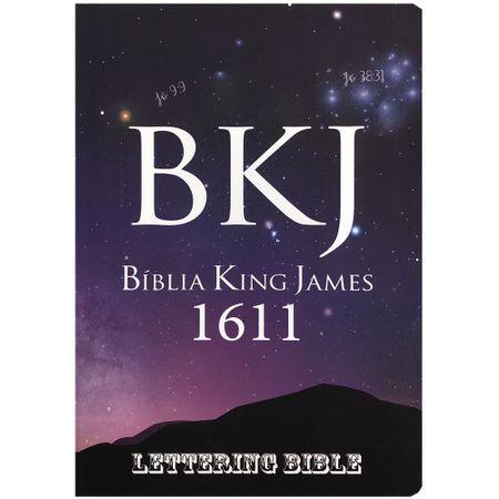 Biblia-King-James-1611-Universo---Lettering-Bible
