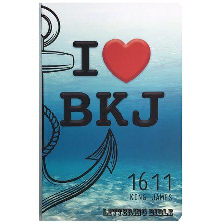 Biblia-King-James-1611-I-Love-BKJ---Lettering-Bible