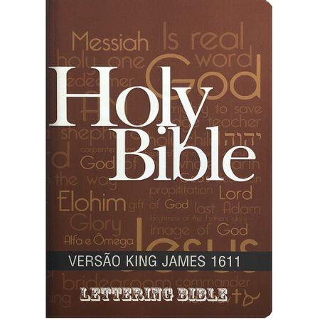 Biblia-King-James-1611-Holy-Bible---Lettering-Bible