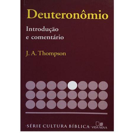 Deuteronomio-Introducao-e-Comentario