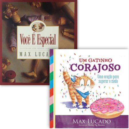 Kit-Max-Lucado-Infantil-Voce-e-Especial---Um-Gatinho-Corajoso