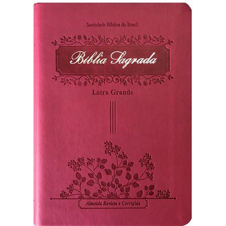 Biblia-RC-Letra-Grande-Pink-Emborrachada-Luxo