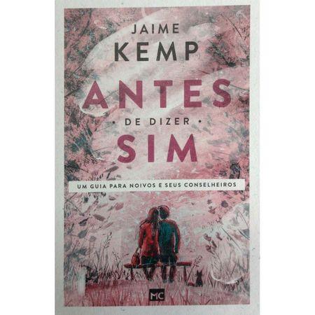 Antes-de-Dizer-Sim-Jaime-Kemp-Nova-Edicao
