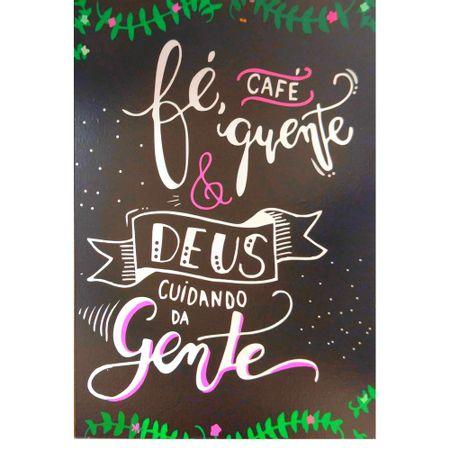 Quadro-MDF-Medio-15x21---Fe-Cafe-Quente-e-Deus
