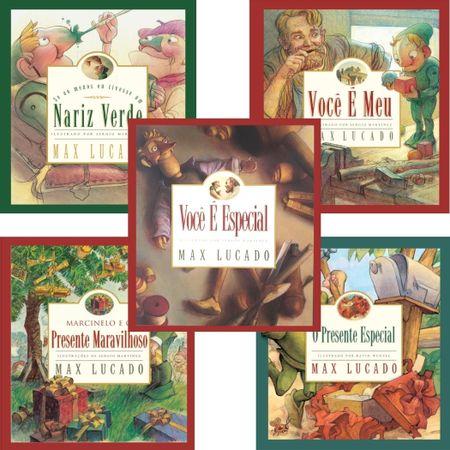 Kit-5-livros-Max-Lucado-Infantil-Nariz-Verde-Voce-e-Meu-Presente-Maravilhoso-Presente-Especial-Voce-e-Especial