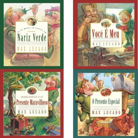 Kit-4-livros-Max-Lucado-Infantil-Nariz-Verde-Voce-e-Meu-Presente-Maravilhoso-Presente-Especial