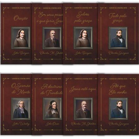 Kit-Classicos-da-Literatura-Crista-8-livros-100--Cristao