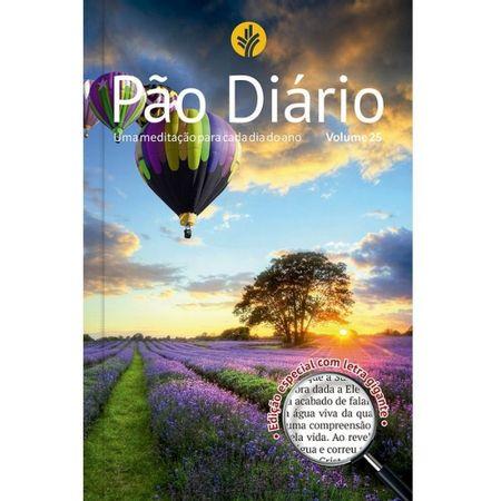 PAO-DIARIO-VOL-25-PAISAGEM-LETRA-GIGANTE